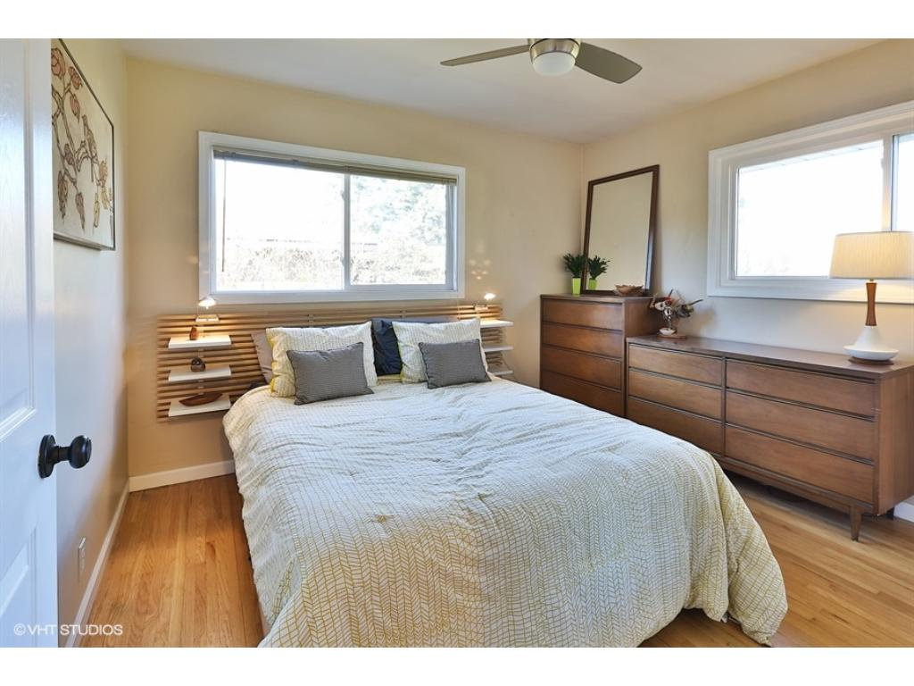 All three bedrooms are on the main level with gorgeous hardwood floors and plenty of natural sunlight!