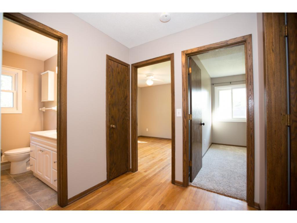 3 Bedrooms on Upper Level