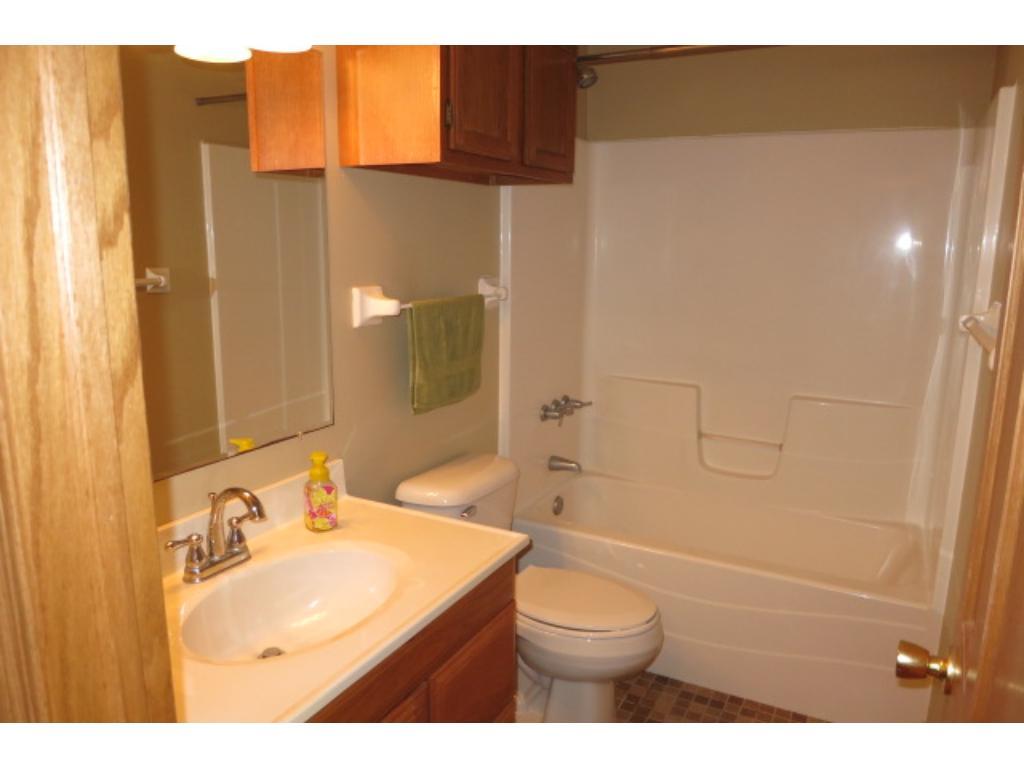 Updated full bathroom.