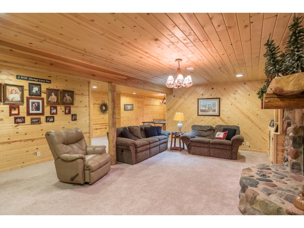 Huge basement with plenty of room for relaxation and recreation
