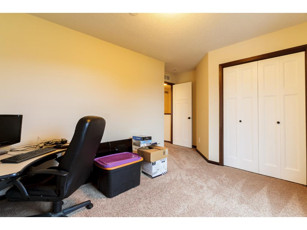 3rd bedroom currently being used as an office.