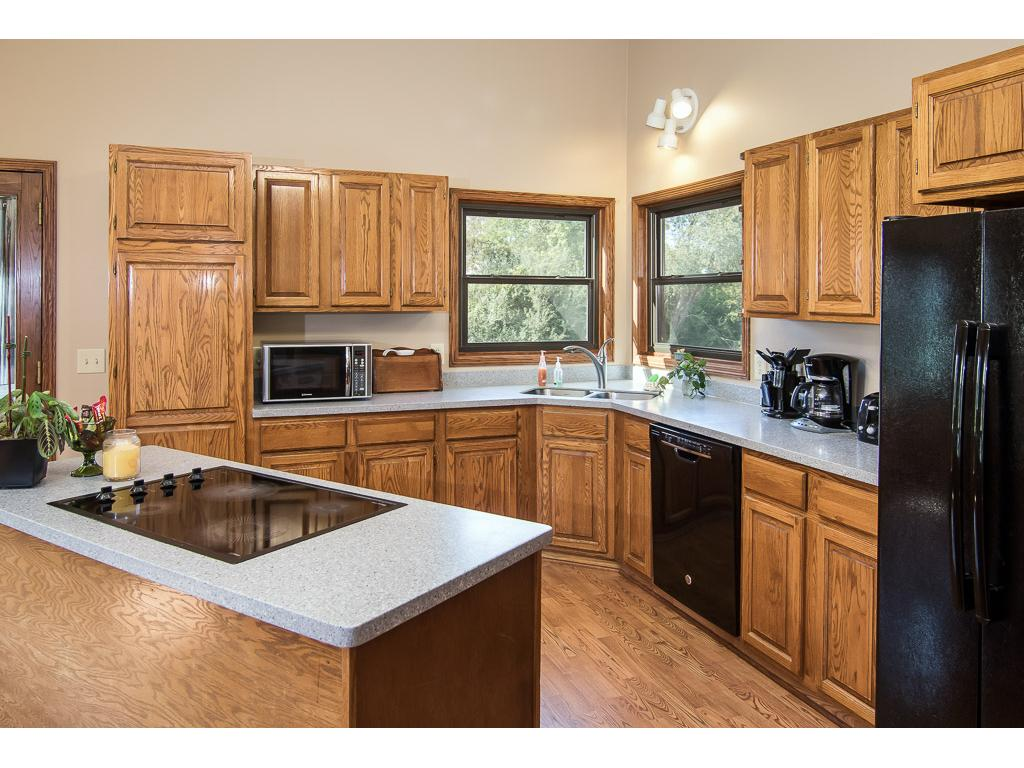 Wonderful kitchen with newer appliances and beautiful views!