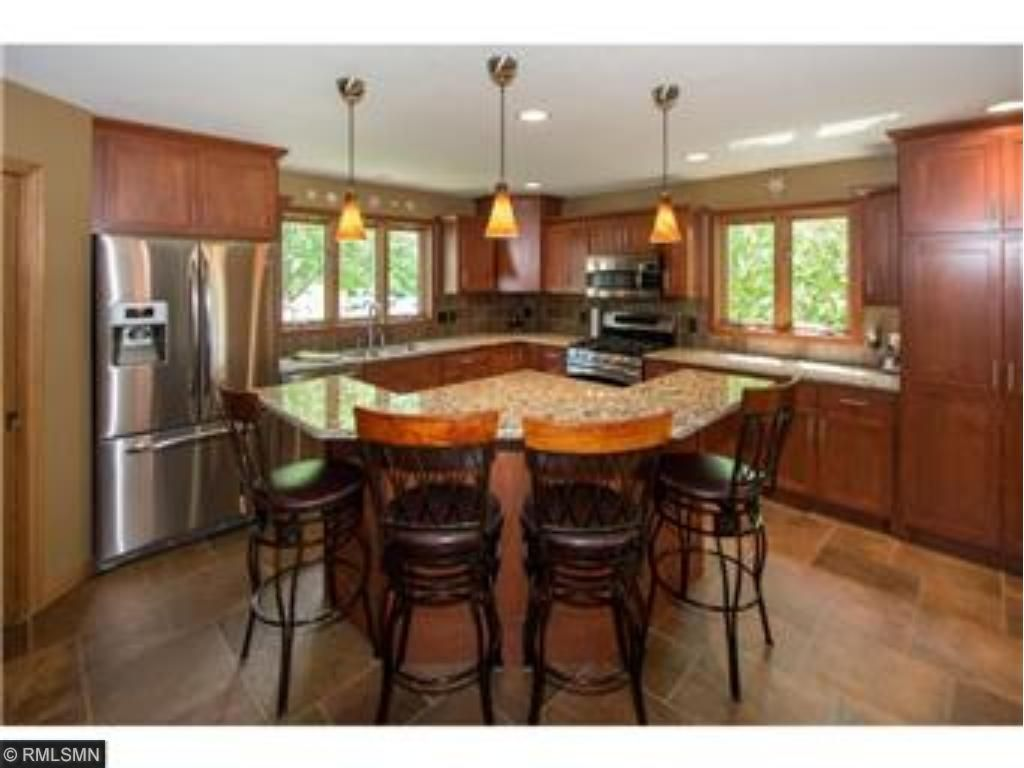 New Kitchen With An Abundance Of Work Space, Custom Cabinets,granite U0026 SS  Appliances