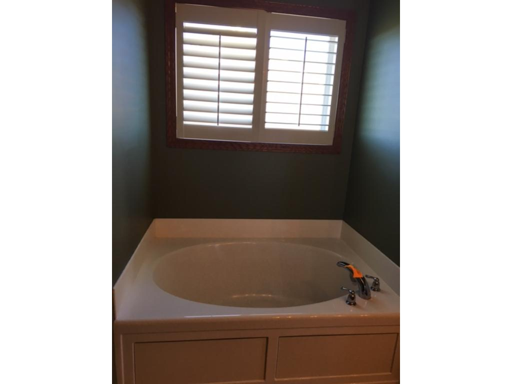 Master soaking tub~