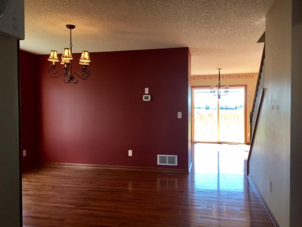 Home offers eat in kitchen and a formal dining room~