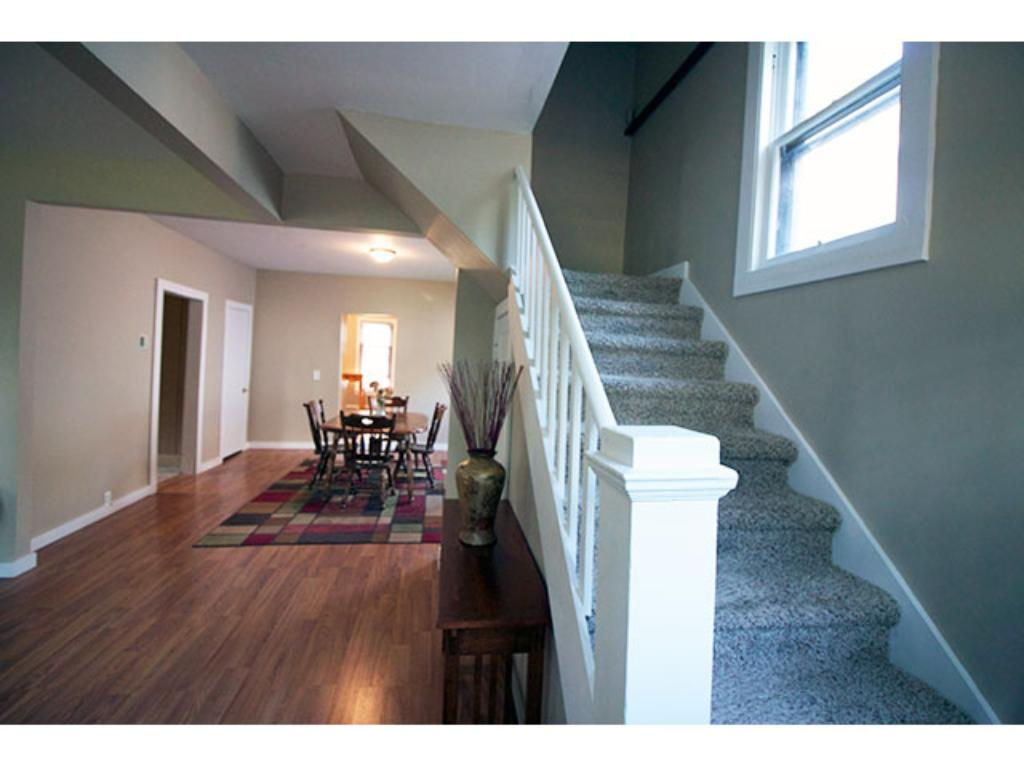 Stairway Up to Private Spaces!