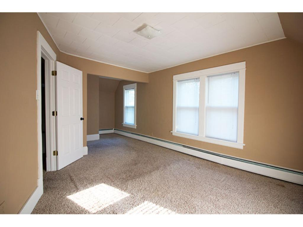 Large Master with closet!  Upper - Roomy enough for sitting nook!  10' x 18'