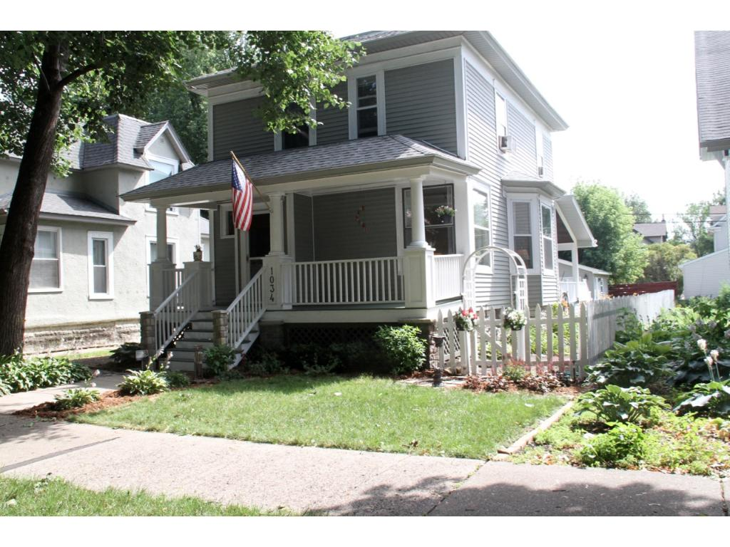 Beautifully renovated turn-of-the-century home, close to downtown and the University of Minnesota.