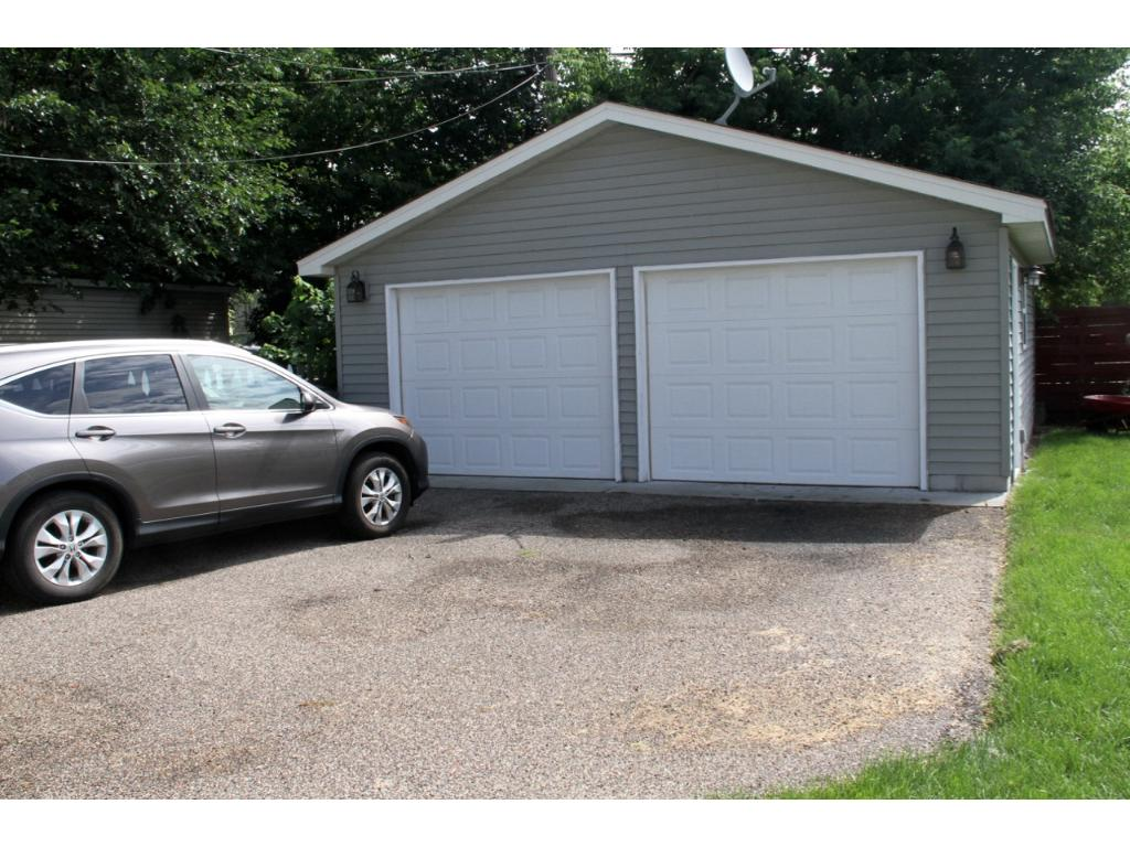 New two car garage!