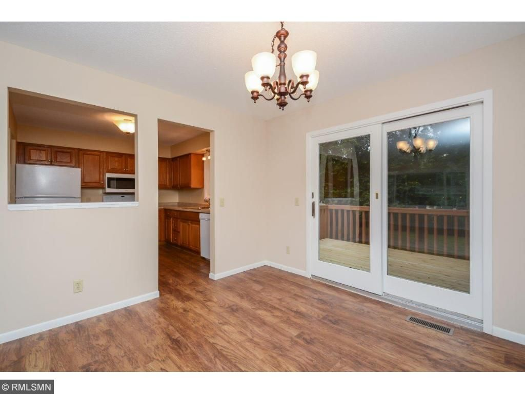 Huge dining room with access to your oversized deck!