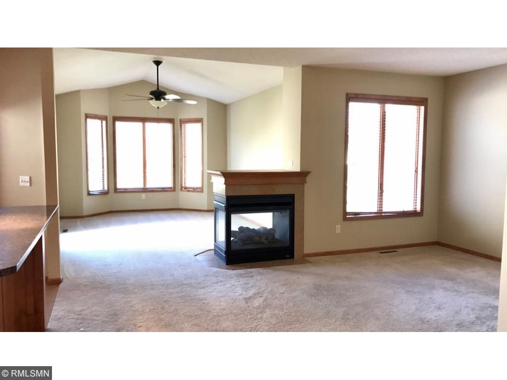 Large Great room that leads into the cozy Sunroom