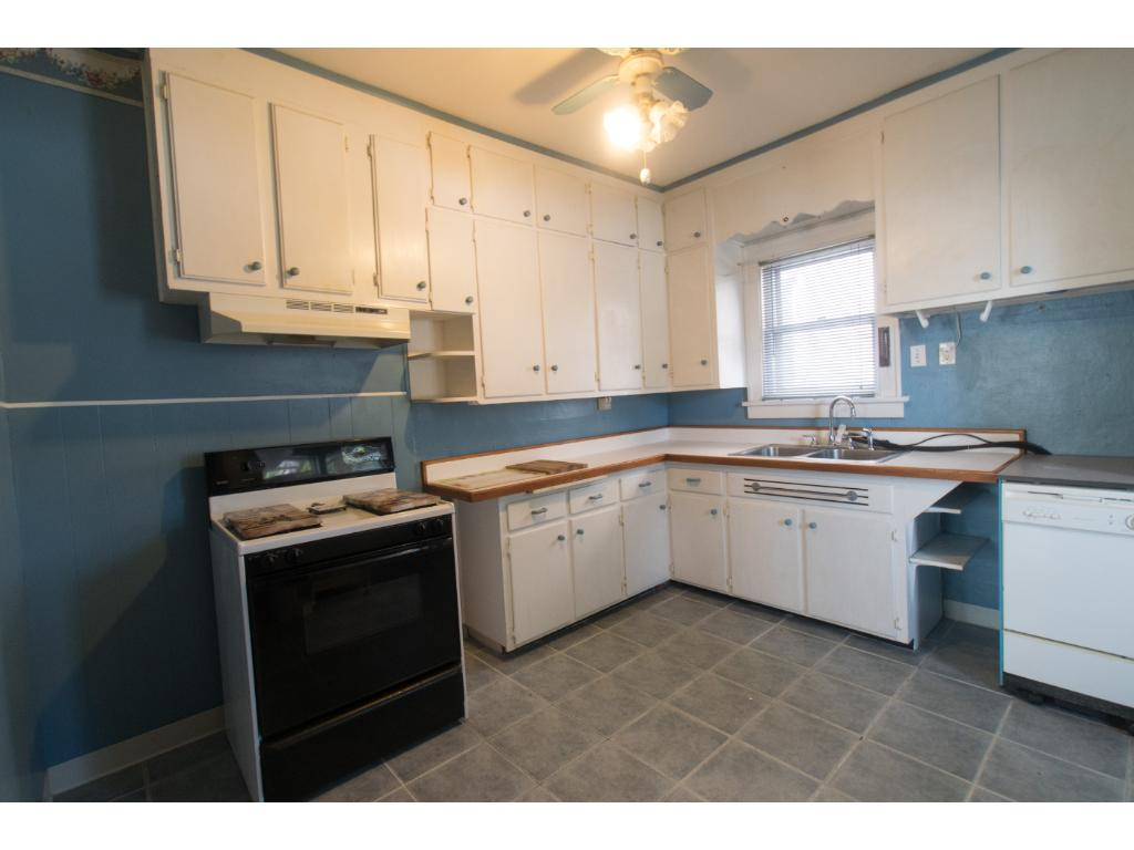 Plenty of countertop and room in this kitchen, very large for the year this home was built.