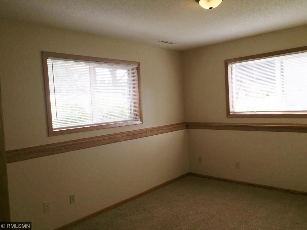 This is the lower level den area.  There is another large closet in this room.