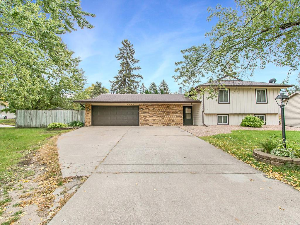 Well maintained home on corner lot