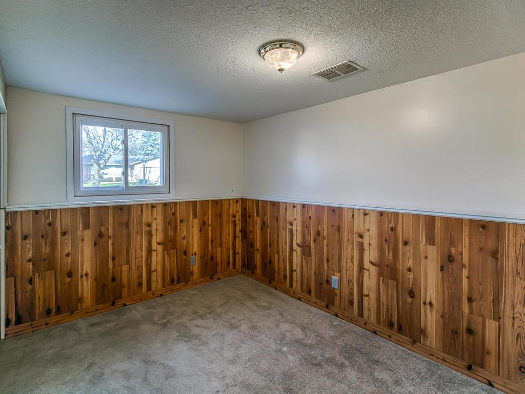 1 of 2 lower level bedrooms