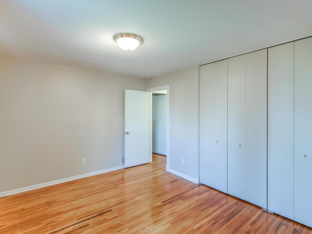 1 of 2 upper bedrooms