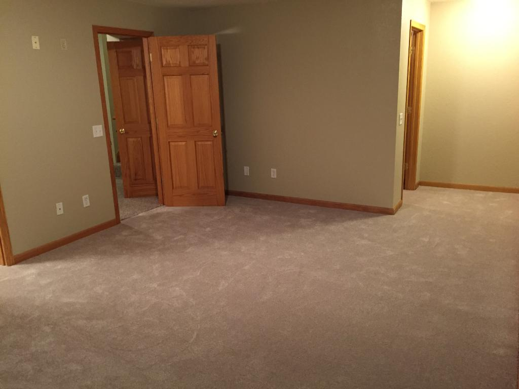 Master Suite with new carpet