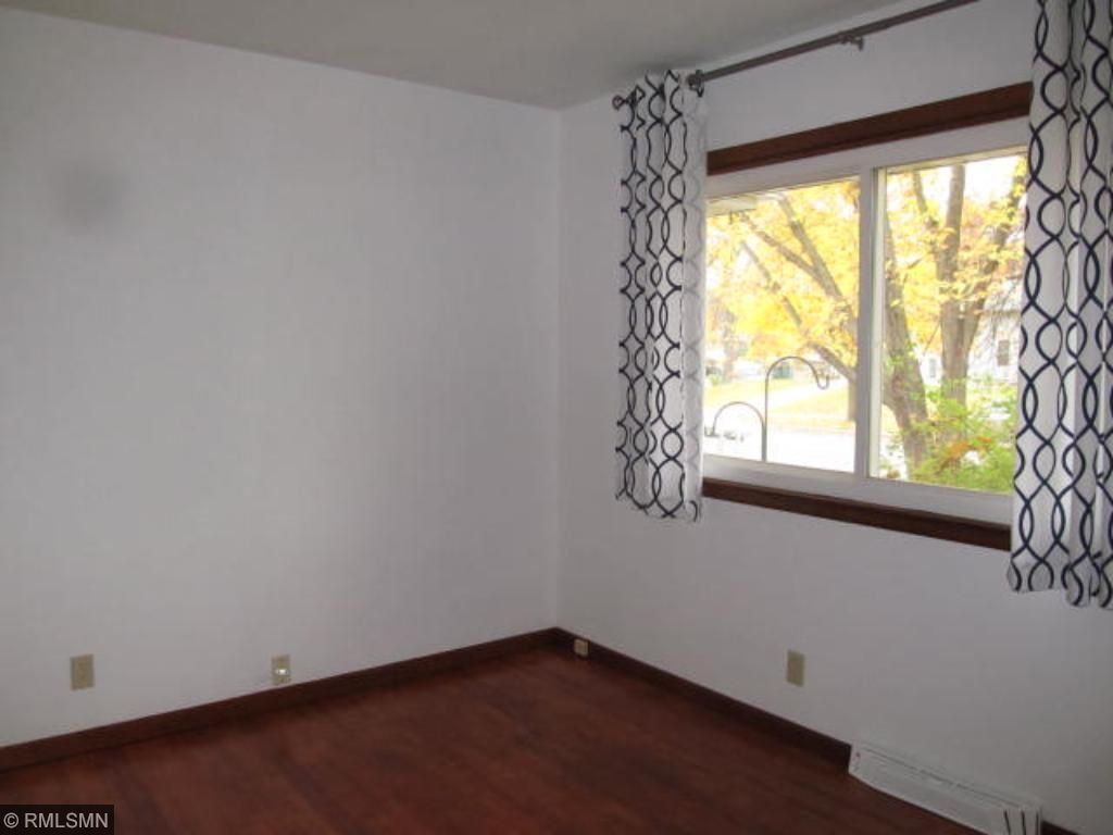 3rd bedroom also offers newly refinished hardwood floors.