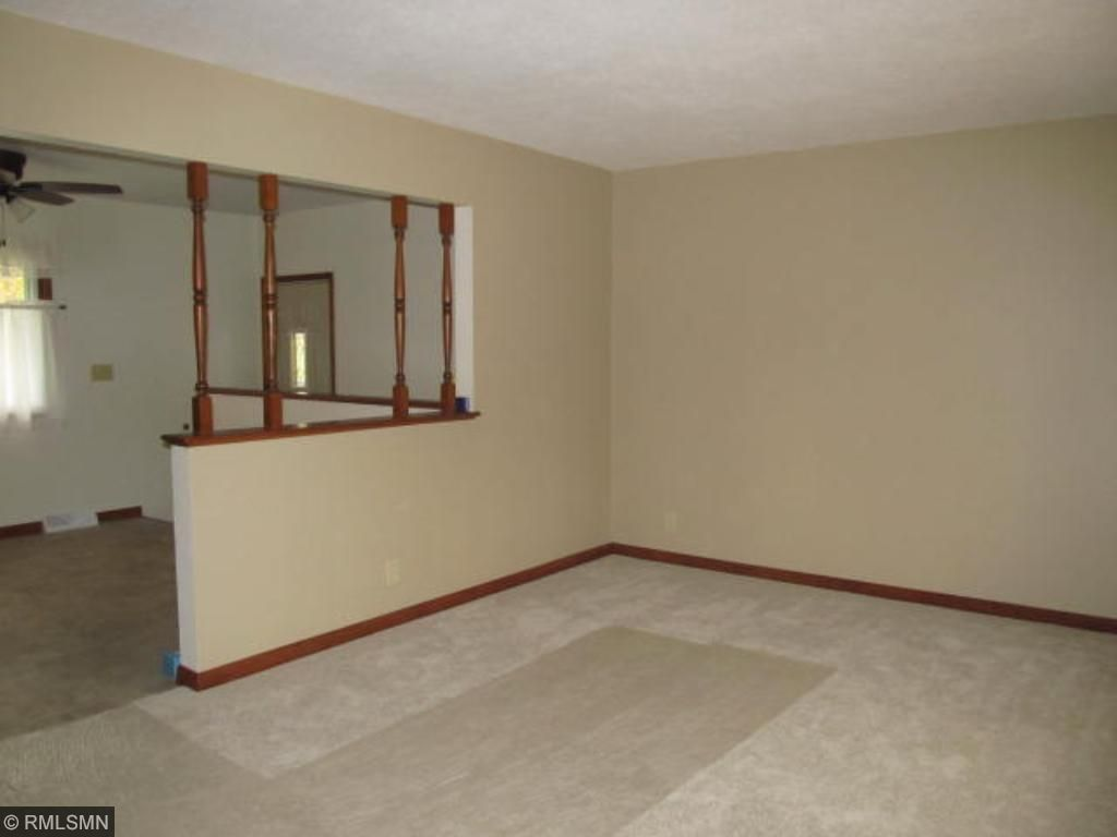 Living room also offers new flooring and paint!