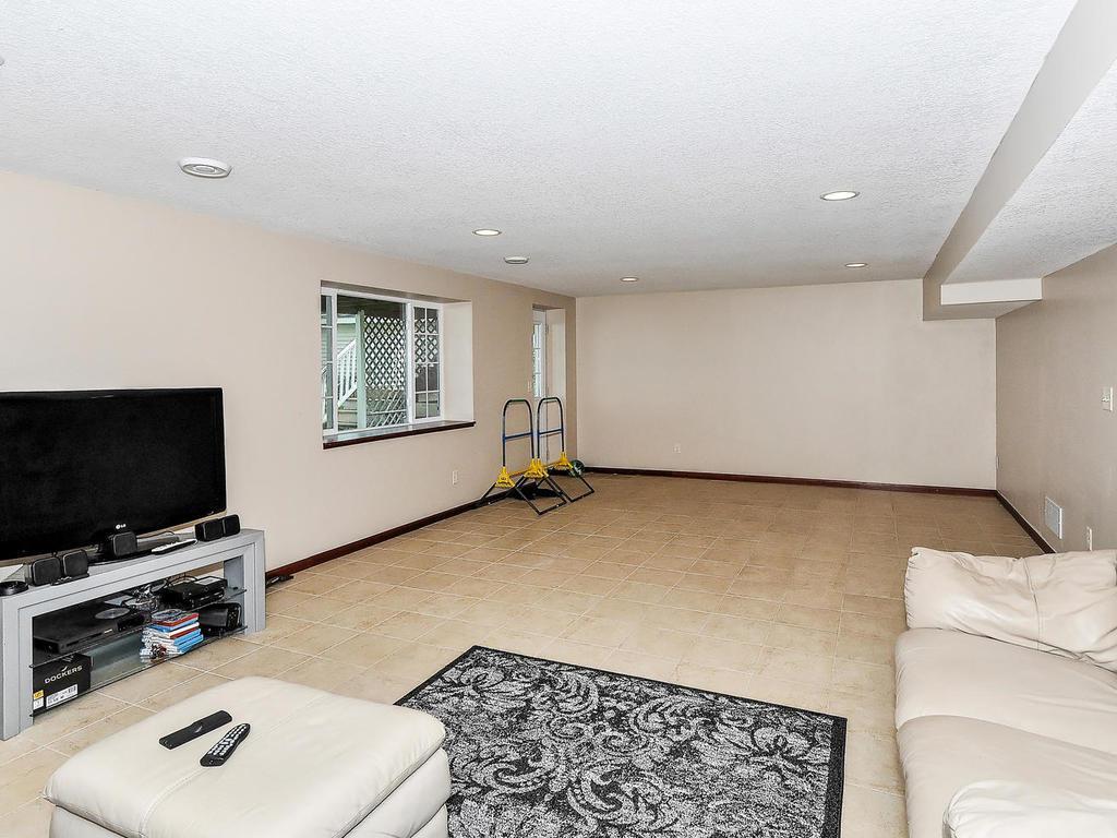 Nice Tile Floor In Lower Level.