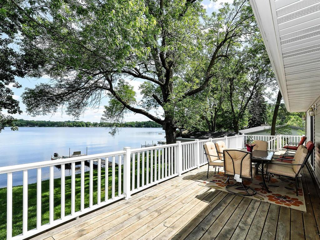 Soak It All Up From the Large Deck Overlooking the Lake!