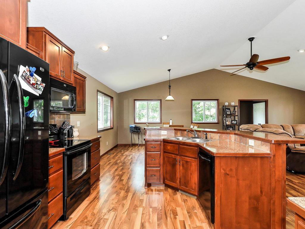 Look at those Gleaming Hardwood Floors!