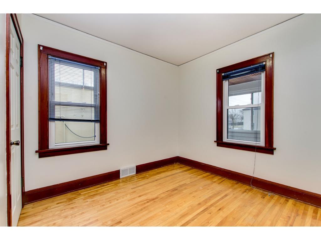 NE main floor bedroom with newer windows. 4 bedrooms total!