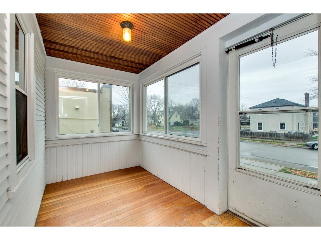 Your new front porch welcomes you! Kick off your boots and enjoy your new home.