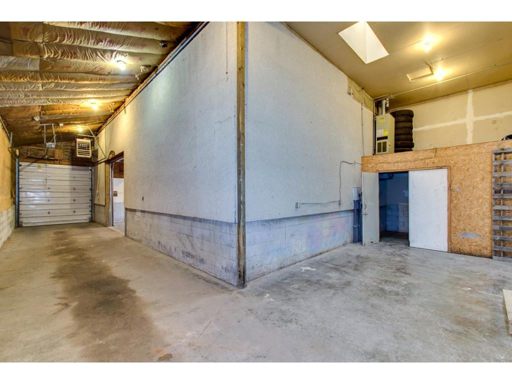 More interior parking and storage! Over 2,100 sf!!!