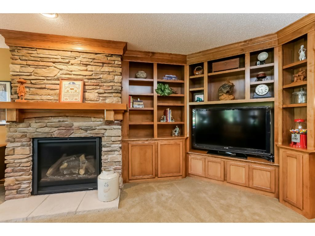Gas fireplace and more built-ins LL