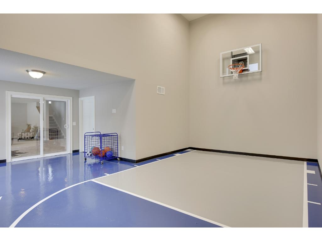 Welcome to your very own indoor sport court!