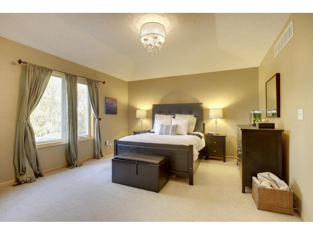 Sophisticated design & exceptional craftsmanship create your personal refuge in the Master Suite!