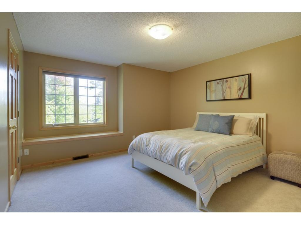 Four spacious bedrooms on the upper level, including the Master Suite