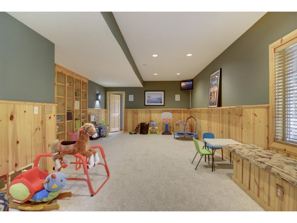 In addition, there is a 2nd family/amusement room!  It offers versatility to accommodate a variety of lifestyle needs & wants!