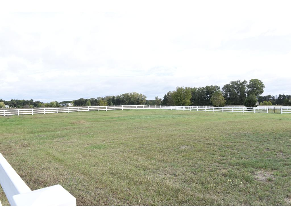 There are four pastures on this property.  It is very hard to find a mixture of pasture, the proper grading for run off and the treed lot like this property offers!