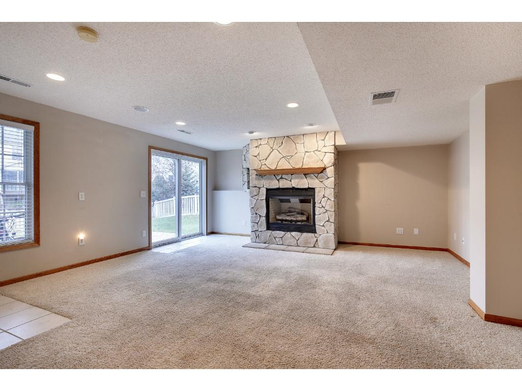 Second fireplace is very unusual for this style home in this neighborhood!