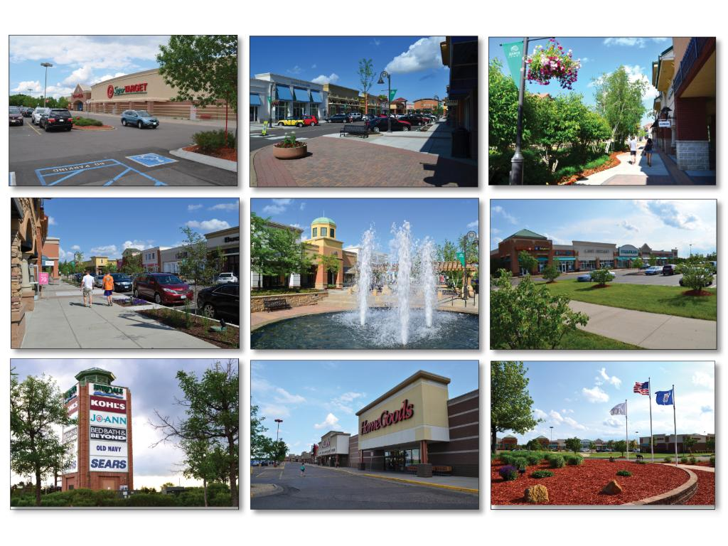 Shopping is not far away either. Target, Riverdale, Arbor Lakes...it is all within minutes of the community.