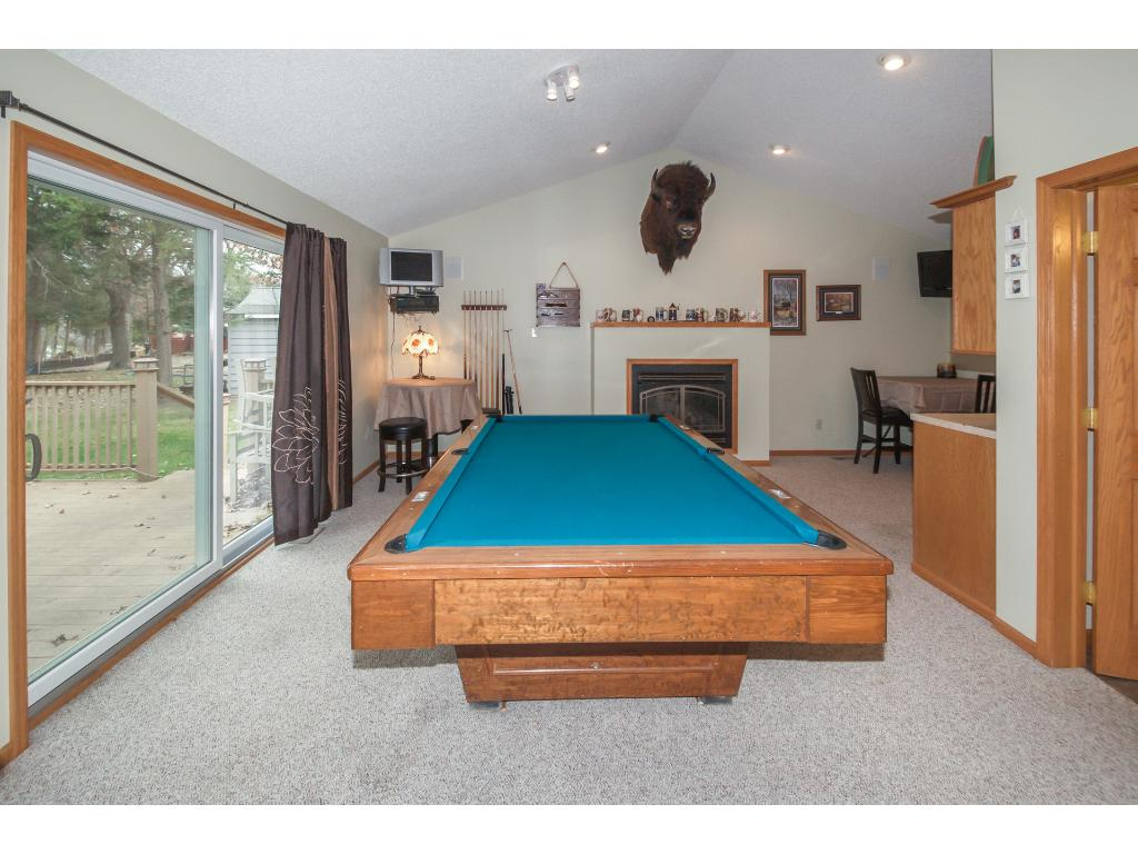 Family/game room has everything you need for entertaining guest or great family time.