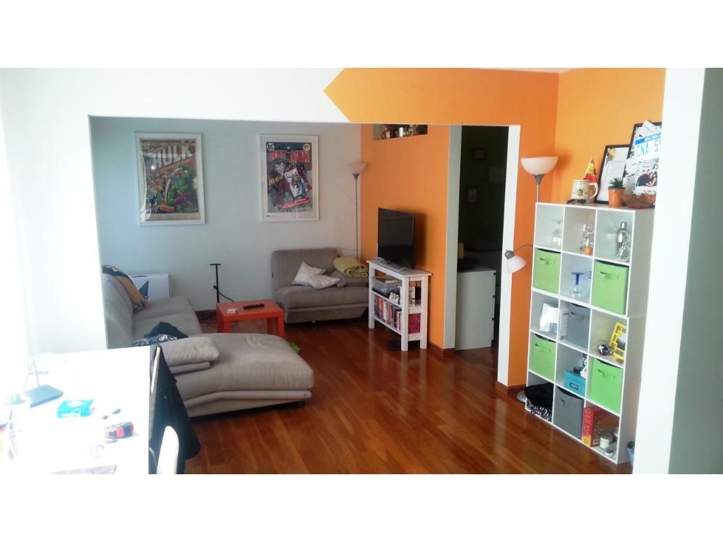 Cherry hardwood floors and professional paint job