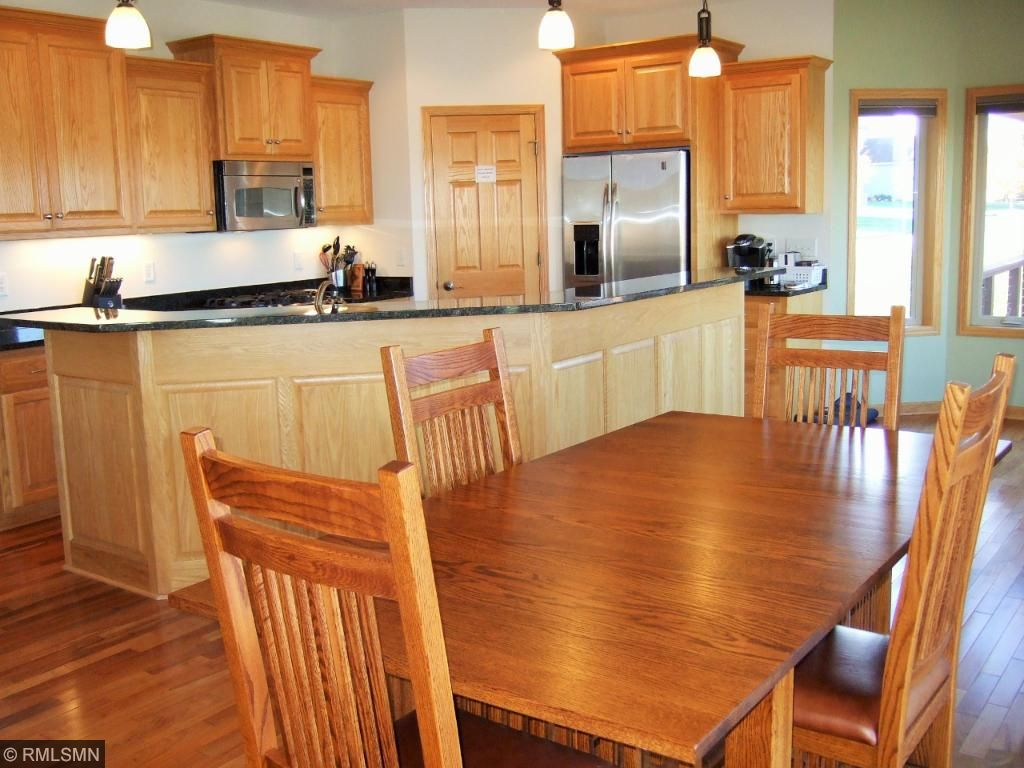 Beautiful space with dining area, eat in area and large kitchen!
