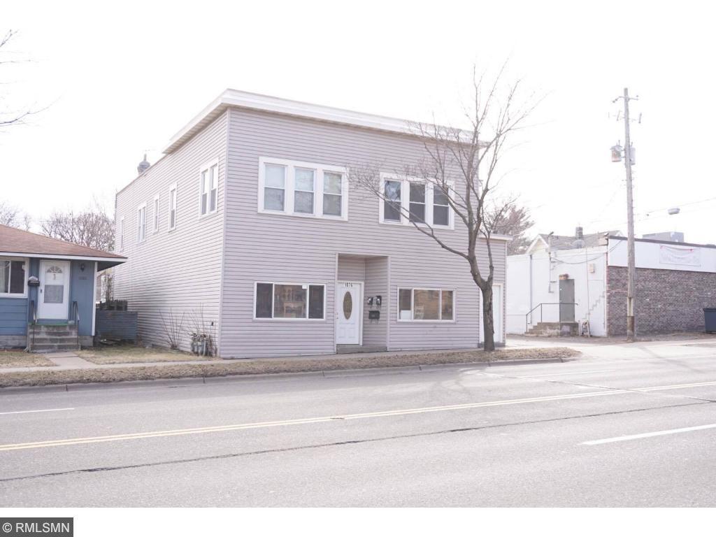 Mix-use building featuring warehouse/storage on main and  sc 1 st  Edina Realty & 1076 Maryland Avenue E Saint Paul MN 55106 | MLS: 4810267 | Edina ...