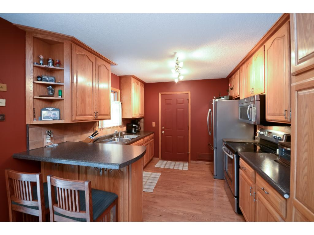 Remodeled Kitchen With Maytag Stainless Steel Appliances, Counter Tops,  Lighting, Flooring And Hardware