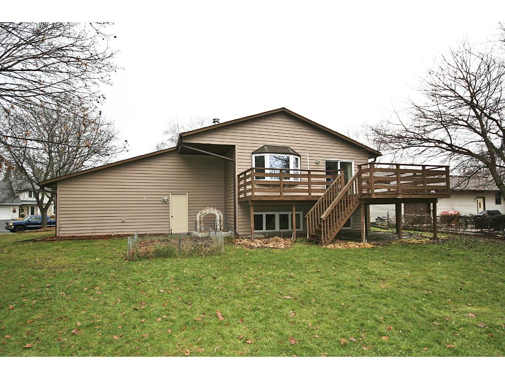 So much to do on this 0.36 acre corner lot! Large deck 14x24' and fire pit area.