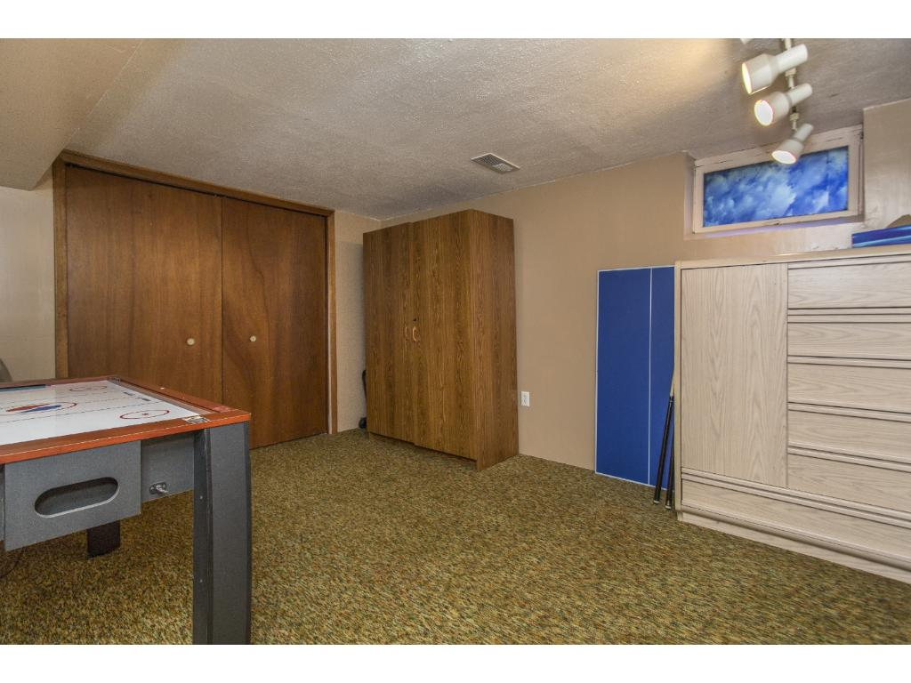 This office space will keep you organized or can be additional storage space.