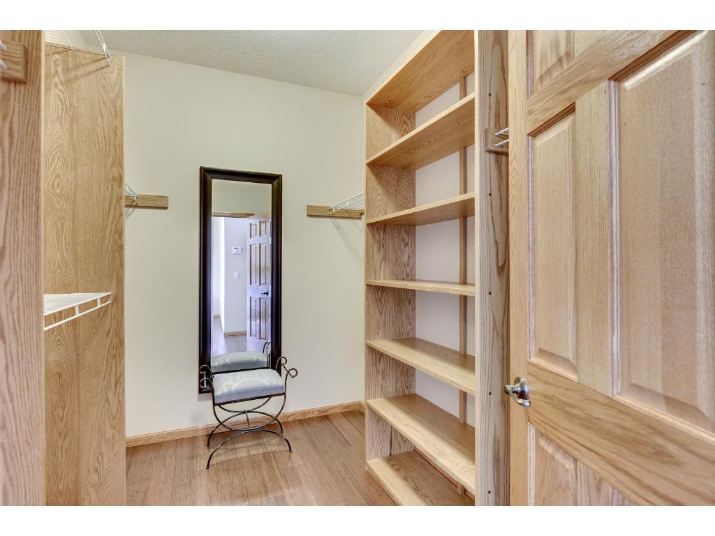 Incredible closet with organization