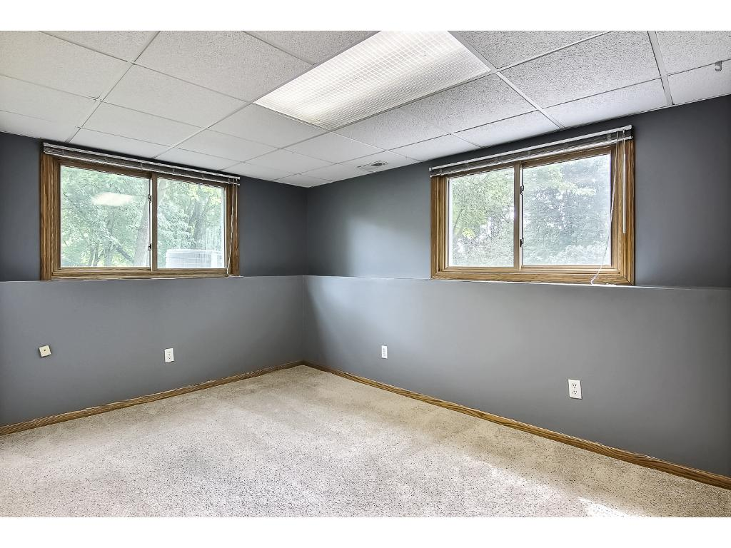 3rd bedroom in lower level