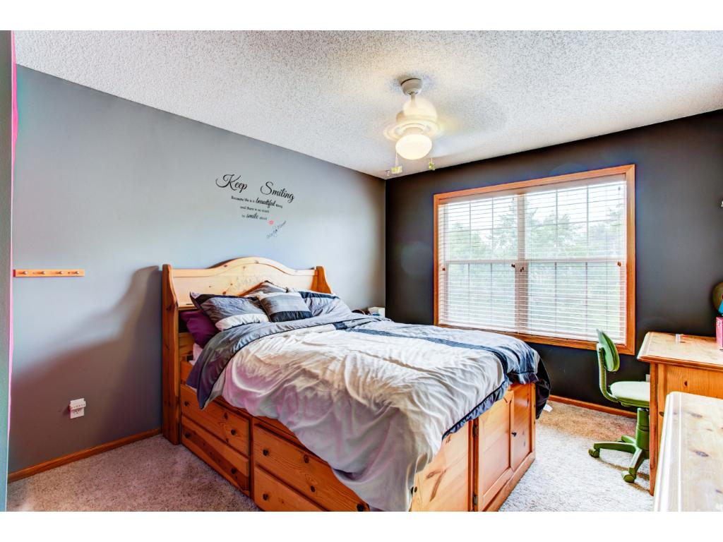 4 spacious bedrooms on the upper level (large 5th bedroom on the lower level)