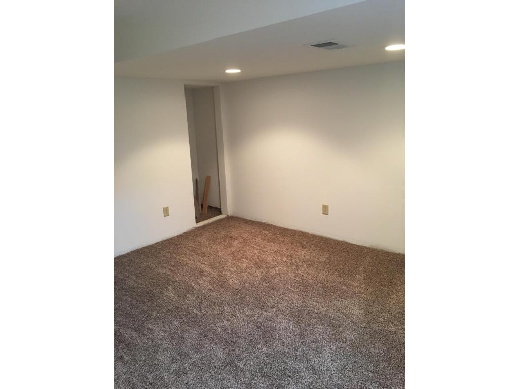 Large newly completed family room