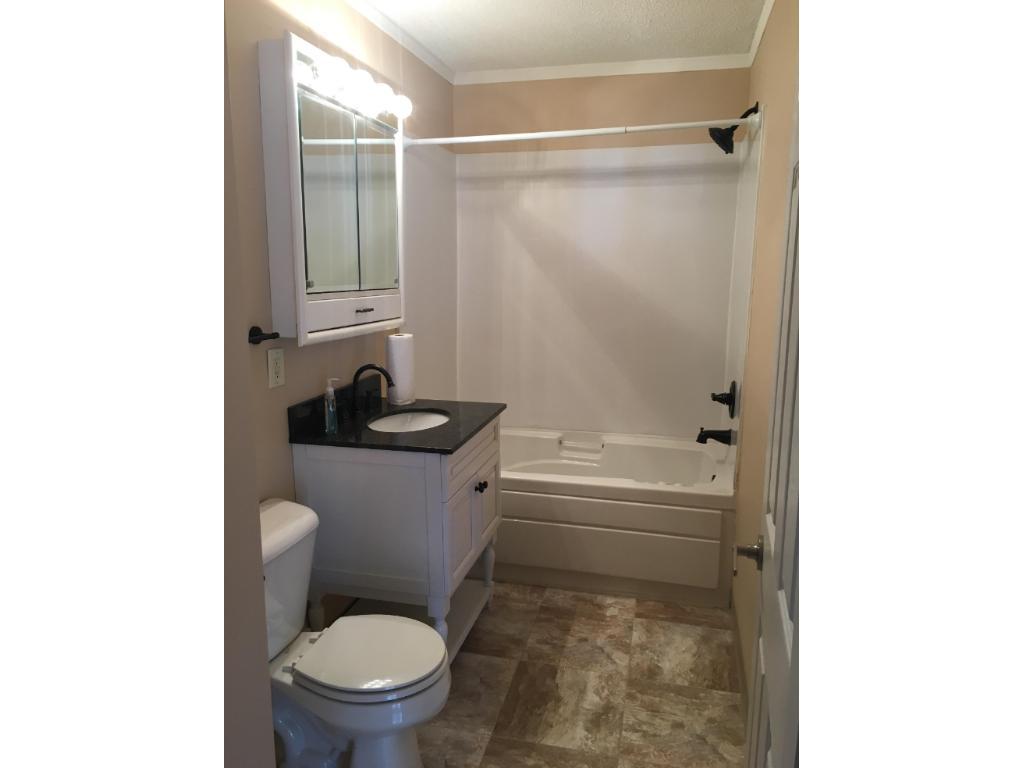 Main floor updated bathroom