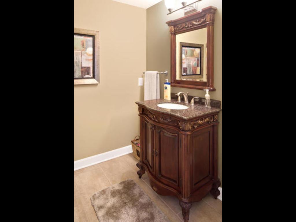 First floor 3/4 bathroom